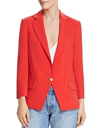 Dylan Gray Single Button Blazer Red