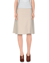 M.O.D. Mod Knee Length Skirts Ivory