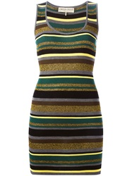 Emilio Pucci Long Knitted Vest Green
