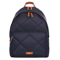 Knomo Bathurst Quilted Backpack For 14 Laptops Navy