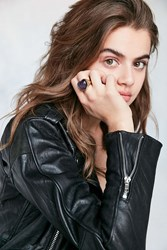 Urban Outfitters Heart Mood Ring Gold