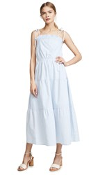 Lost Wander Rio Dulce Maxi Dress Blue White