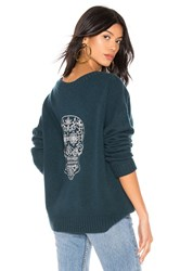 360Cashmere Kateryna Sweater Turquoise