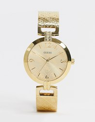 Guess G Luxe Bracelet Watch In Gold