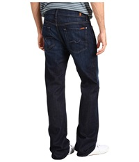 7 For All Mankind Austyn Relaxed Straight 36 Long In Los Angeles Dark Los Angeles Dark Men's Jeans Blue