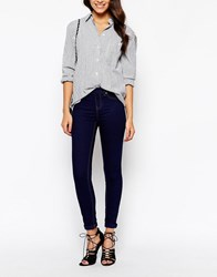 New Look Navy Jegging Blue
