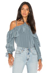 Calvin Rucker Take Your Time Blouse Blue