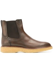 Tod's Ankle Boots Brown
