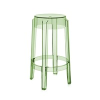 Kartell Charles Ghost Stool 65Cm Green