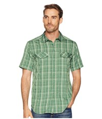 Royal Robbins Ultra Light Short Sleeve Shirt Elm Green Short Sleeve Button Up