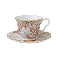 Wedgwood Daisy Tea Story Teacup And Saucer Pink