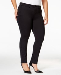 Celebrity Pink Trendy Plus Size Trouser Jeans Black