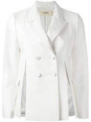 Ports 1961 Double Breasted Jacket White