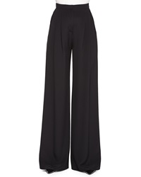 Carolina Herrera Wide Leg Pants With Pleated Front