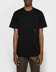 Oamc Feather T Shirt Black