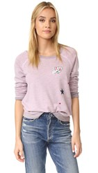 Sundry Patches Sweatshirt Candy