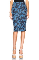 Elle Sasson Lea Skirt In Blue