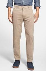 Ag Jeans Men's Ag 'The Lux' Tailored Straight Leg Chinos Wheat