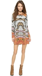 Twelfth St. By Cynthia Vincent Swing Dress Tangier Paisley