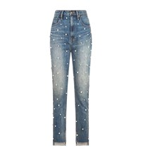 Juicy Couture Pearl Girlfriend Jeans Blue