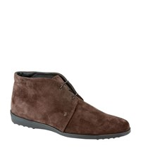 Tod's Polacco Suede Desert Boot Female