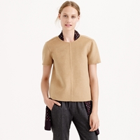 J.Crew Collection Double Faced Cashmere Tee