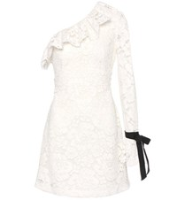 Philosophy Di Lorenzo Serafini One Shoulder Lace Dress White
