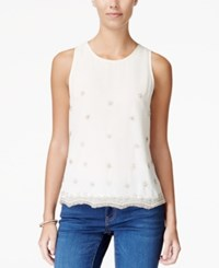 American Rag Embellished Sleeveless Top Only At Macy's