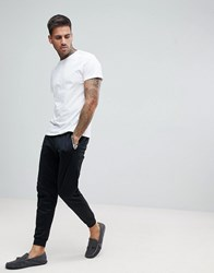Boss By Hugo Dynamic Joggers With Cuffed Ankles In Regular Fit Black