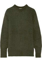 Tibi Knitted Sweater Army Green
