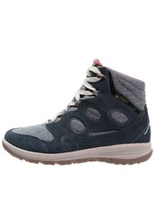Jack Wolfskin Vancouver Texapore Walking Boots Night Blue Dark Blue