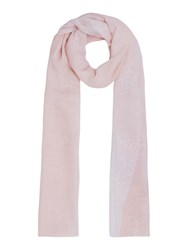 Guess Two Tone Long Scarf Pink
