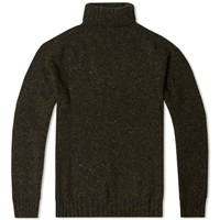 Howlin' Moonchild Roll Neck Moss