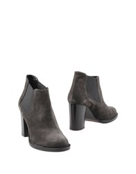 Anna F. Ankle Boots Steel Grey