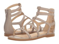 Hush Puppies Abney Chrissie Lo Light Taupe Leather Sandals Beige