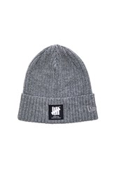 Undefeated Undftd Label New Era Beanie Gray