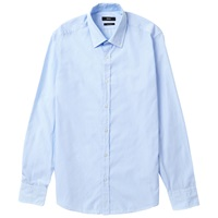 Boss Logo Boss Lukas Regular Fit Fine Stripe Shirt Light Blue