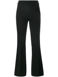 Giambattista Valli High Waisted Flared Trousers Black