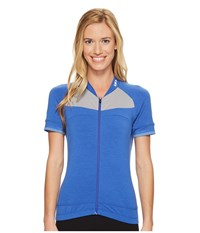 Louis Garneau Beeze 2 Jersey Dazzling Blue Women's Clothing