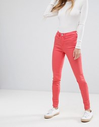 Blend She Moon Colo Skinny Jeans Living Coral Orange