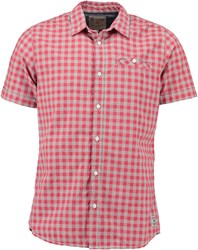 Garcia Gingham Cotton Shirt Raspberry