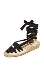 Soludos Laced Demi Wedge Sandal Natural