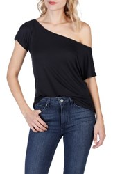 Paige Women's Holly One Shoulder Tee