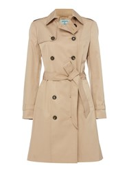 Dickins And Jones Classic Trench Coat Camel