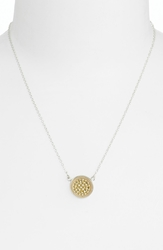 Anna Beck 'Gili' Reversible Disc Pendant Necklace