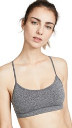 Splits59 Loren Seamless Support Bra Heather Grey
