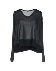 Pinko Black Topwear T Shirts Women