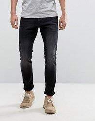 Esprit Skinny Fit Jeans In Black Black