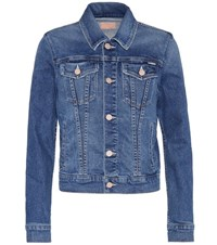 Mother The Pocket Bruiser Denim Jacket Blue