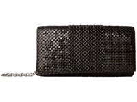 Jessica Mcclintock Cassie Ball Mesh Flap Black Handbags